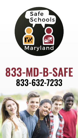 Screenshot of the MD B Safe flyer